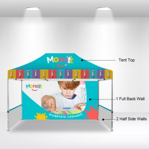 10×15 EZ Up Instant Canopy Tent