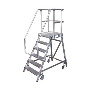 Factory Promotional Aluminium Step Ladders With Handrails - Aluminium Alloy Ladder – YSXF