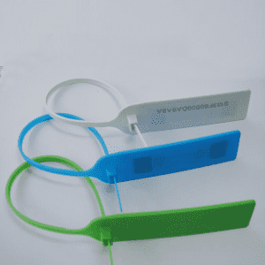 UHF PP Material RFID RF Cable Tie sealed Tag