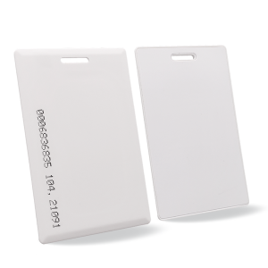 Hot New Products Rfid Card Holder - Custom Blank 125khz RFID Proximity TK4100 ID Clamshell Cards – Chuangxinji