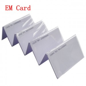 High Quality Rfid Card Inlay - Custom Blank 125khz RFID Proximity EM4200 ID Cards – Chuangxinji