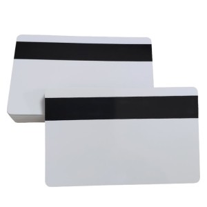 Inkjet white id card plastic pvc blank atm cards with magnetic stripe