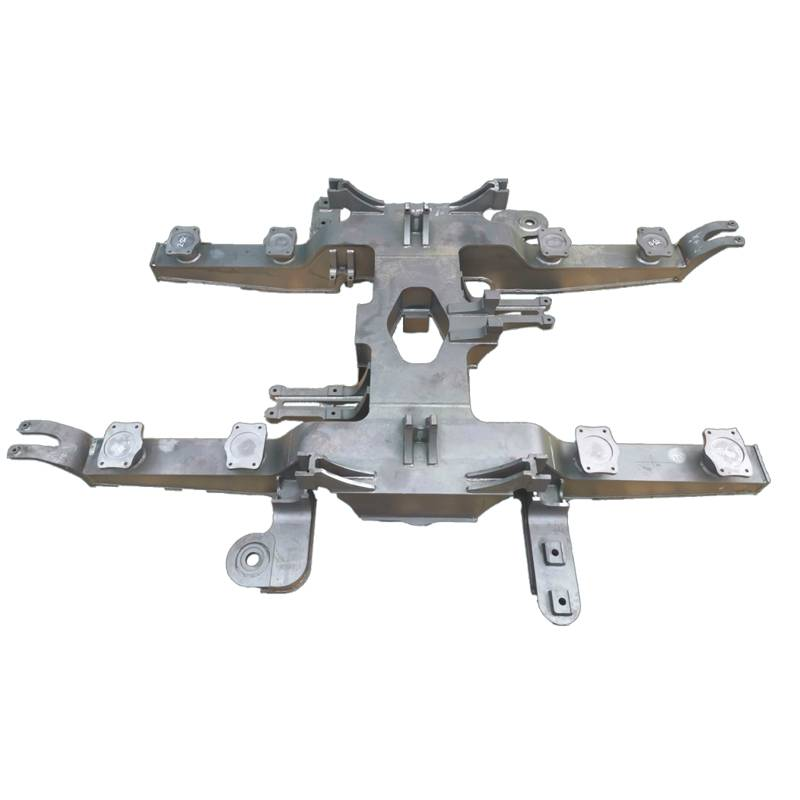 Good quality CNC Machined Industrial Equipment Part - bogie frame – Daqian