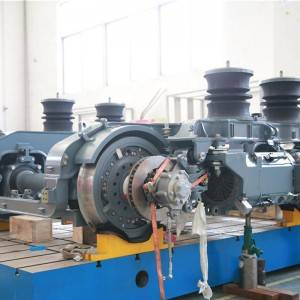 Factory selling Semi-Permanent Coupler and Draft Gear - Bogie – Daqian