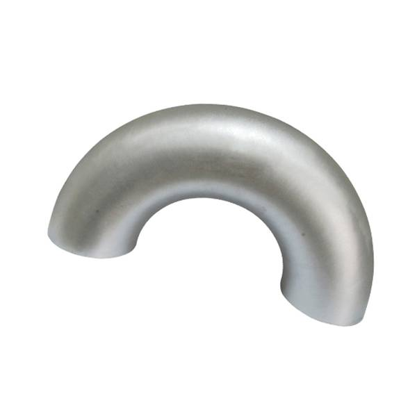 White Steel Pipe Elbow