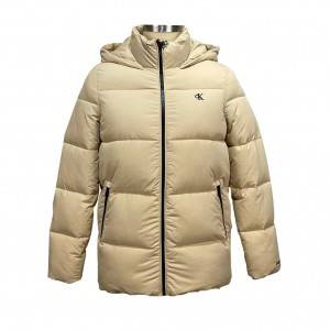 Hooded Puffer Quilted Jacket Women Warm Coat