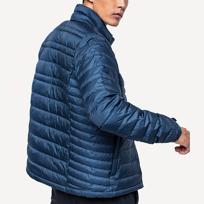 Manufacturing Companies for Short Padded Jacket - Men's Real Down Jacket – Suxing