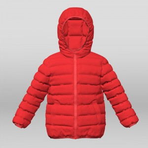 New Fashion Design for Kids Padded Jacket - Girl's Real Down Jacket – Suxing