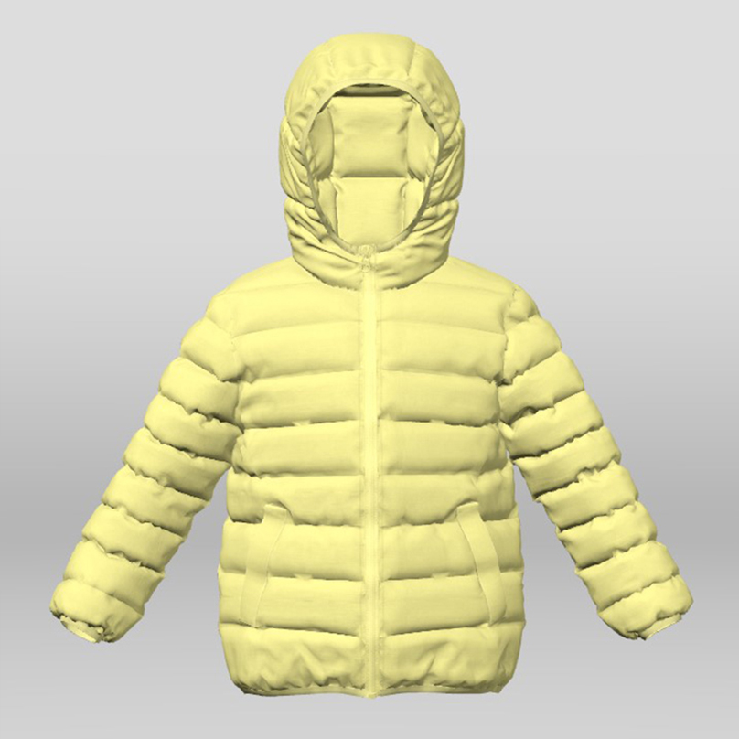 2018 Good Quality Puffer Jacket With Fur Hood - Boy's Faux Down Jacket – Suxing detail pictures