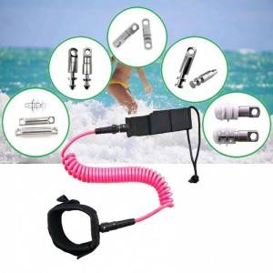 China Manufacture High Quality Surfboard Leash Surf Leash Custom Surfboard Leash