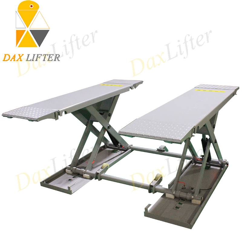 Small Car Lift Movable Middle Rise Daxlifter