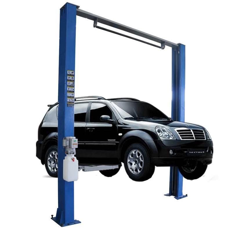 High definition Aerial Cage – Clear Floor 2 Post Car Lift – Daxin