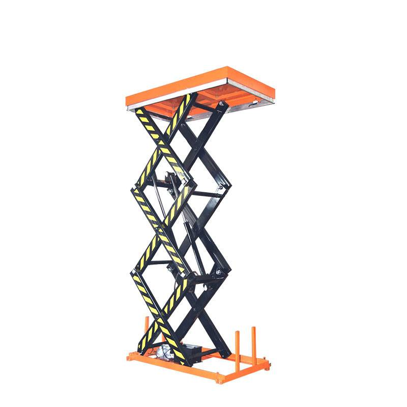 2020 wholesale price Customized Scissor Lift Table - Three Scissor Lift Table – Daxin