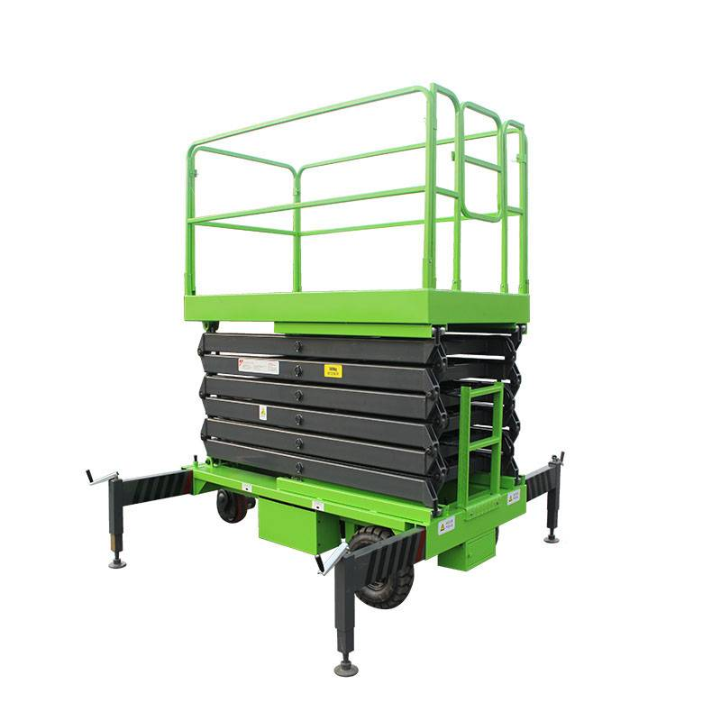 2020 China New Design Heavy Duty Scissor Lift - Full Electric Scissor Lift – Daxin