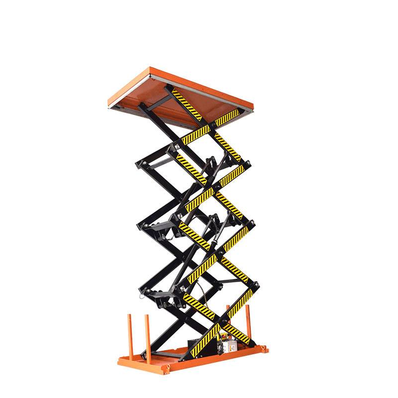 OEM Supply Small Hydraulic Lift Table - Four Scissor Lift Table – Daxin