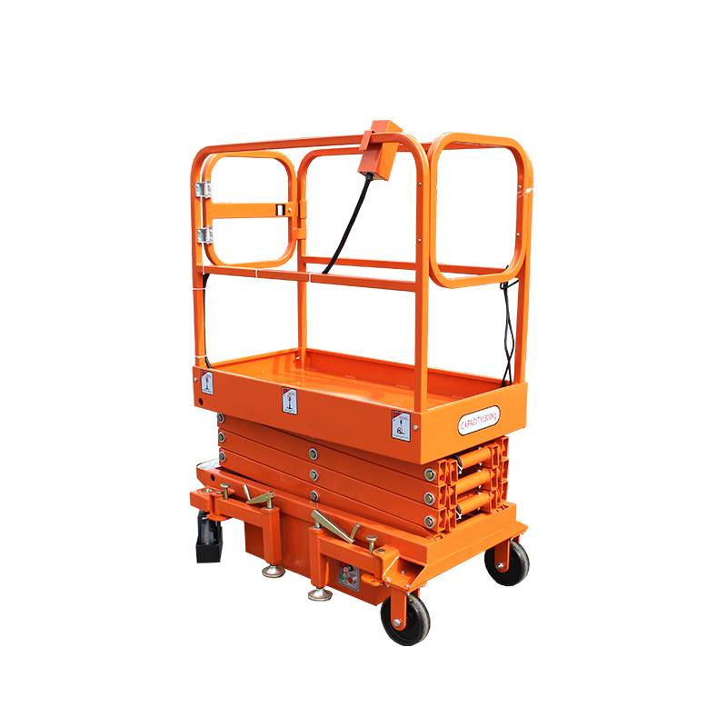 Good Quality Scissor Lift - Mobile Mini Scissor Lift – Daxin