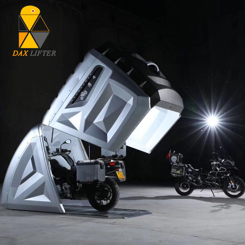 Stationary and Mobile Motorcycle Covers