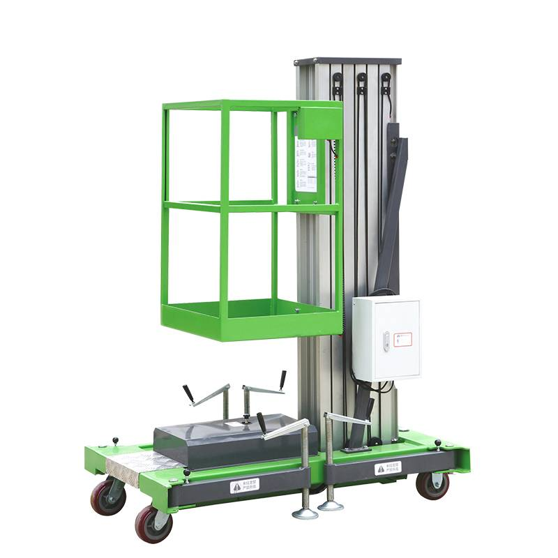 2020 China New Design Electric Platform Lift - Single Mast Aluminum Aerial Work Platform – Daxin