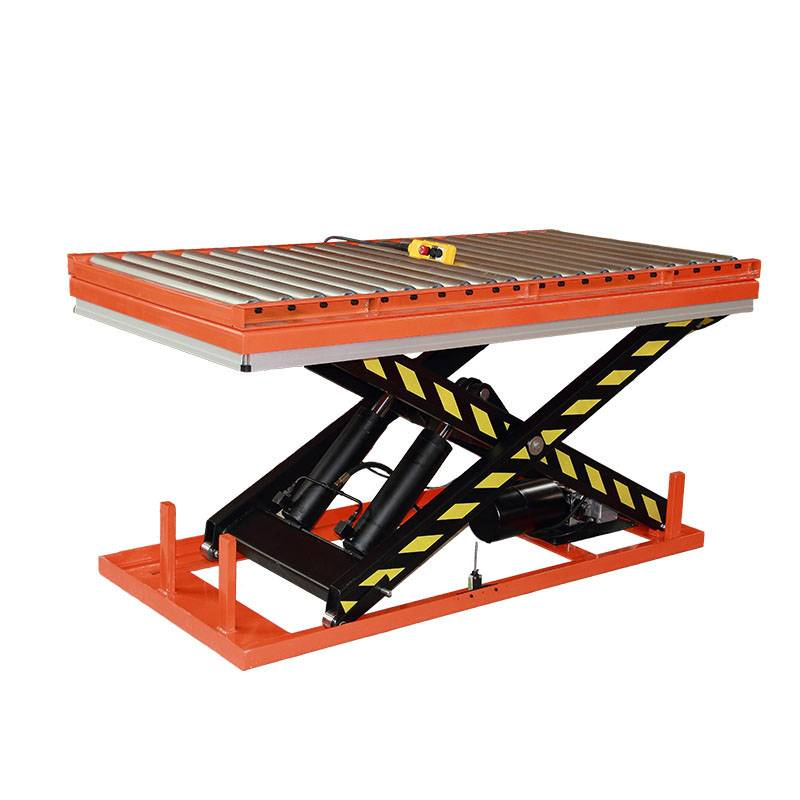 Factory wholesale Hydraulic Scissors Lift Table - Roller Scissor Lift Table – Daxin
