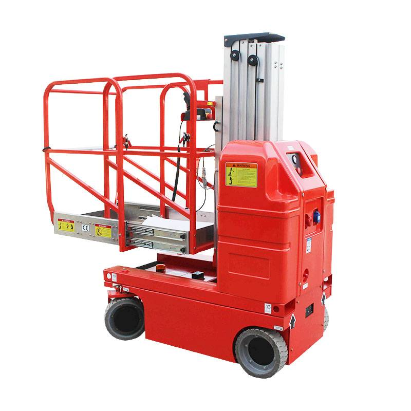 PriceList for Electric Driving Aluminum Lift Platform - Self Propelled Aluminum Aerial Work Platform – Daxin