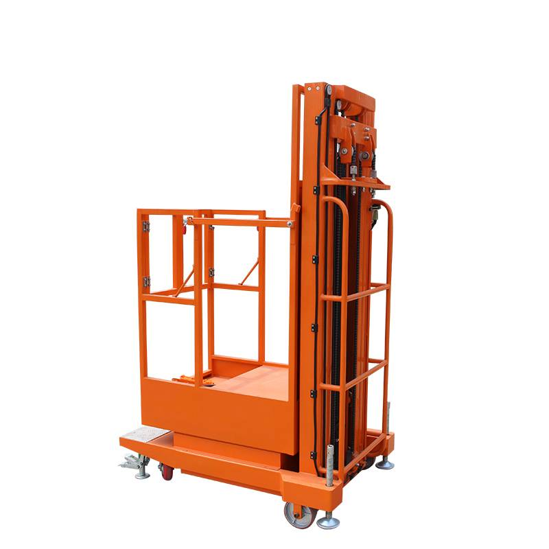 China  price China Ce Approve  Semi Electric Order Picker for Sale