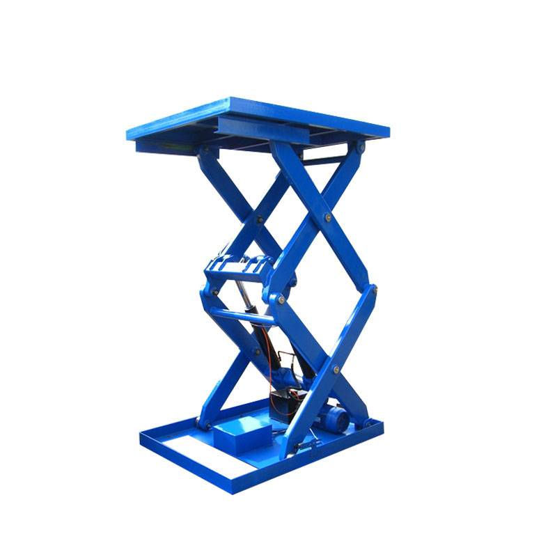Wholesale Roller Scissor Lift Table - Double Scissor Lift Table – Daxin