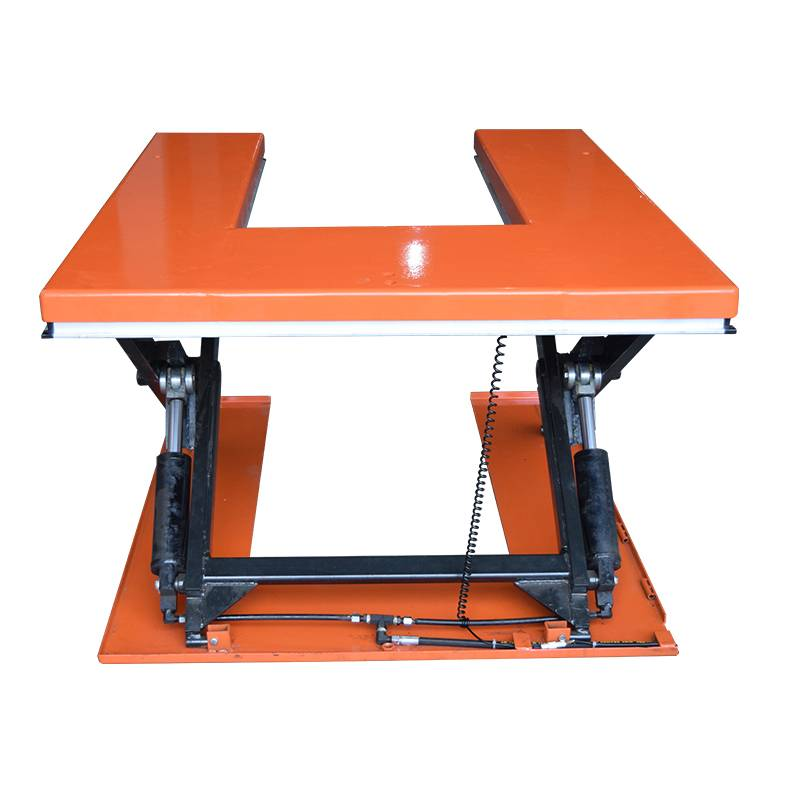 U Type Scissor Lift Table