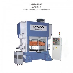 OEM/ODM Manufacturer Stamping Machine - Straight Side High Speed Press For Motor Stator And Rotor(HHD Series) – Daya