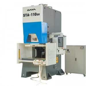 Special Price for 40t Tdf Duct Corner Angle Press Machine - C Frame Servo Press (STA series) – Daya