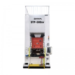 Factory directly supply 500t Solid Frame Double Crank Mechanical Press Machine - Straight Side Servo Press (STP series) – Daya