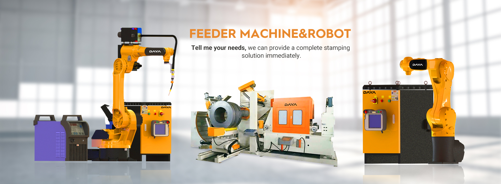 Transfer & Welding Robot Series AND