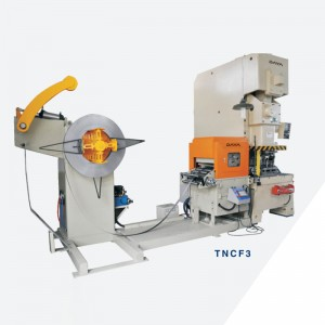 TNCF3-series 3IN1 NC Servo Feeder Machine