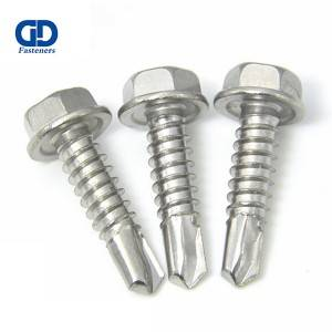 factory Outlets for Small Self Drilling Screws - 410 Stainless Steel Hex head SDS – DD Fasteners