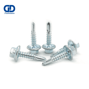 Fixed Competitive Price White Self Drilling Screws - Hex Head Flange Self Drilling Screw – DD Fasteners