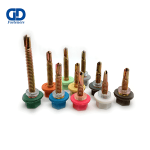 OEM/ODM Manufacturer Self Drilling Screw For Roof - Hex Nylon Head Self Drilling Screw – DD Fasteners