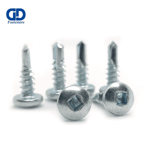 factory Outlets for Small Self Drilling Screws - Square Groove Pan Head Self Drilling Screw – DD Fasteners