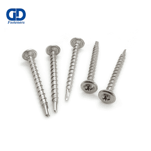 Factory selling Self Drilling Screw Socket - Stainless Steel Philips Truss Head Self Drilling Screw Coarse Thread – DD Fasteners