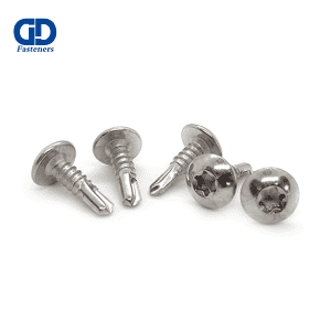 Factory Supply Zinc Plated Hex Flange Self Drilling Screw - Stainless Steel Torx Mushroom Head Self Drilling Screw  – DD Fasteners