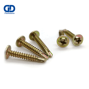 Chinese wholesale Stainless Steelcountersunk Head Self Drilling Screw - Truss Head Self Drilling screw Color Zinc – DD Fasteners
