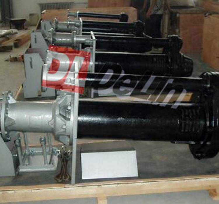 Vertical Rubber Sump Slurry Pump