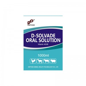Vitamin AD3E oral solution