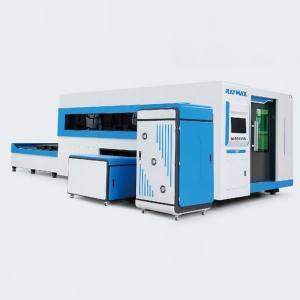 EXCHANGEABLE PLATFORM FIBER LASER CUTTING MACHINE