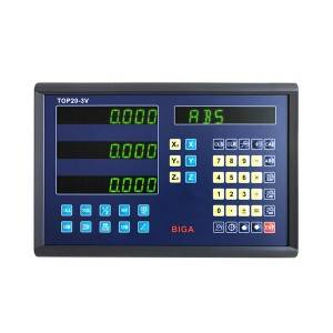 Good quality Lathe Digital Readout Sino Signal Dro Scales Digital Scales Dro 2 Axis Dro Kit - TOP20-3V – BiGa
