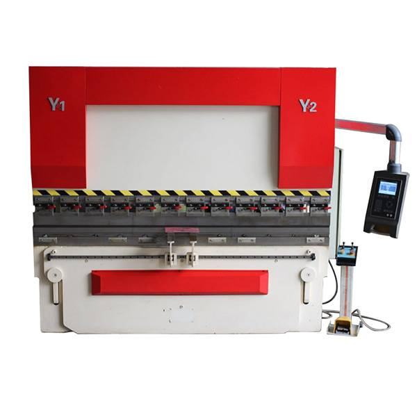High Quality Spark Erosion Edm - Technical parameter of Hydraulic press brake with E21 125T/2500 mm – BiGa