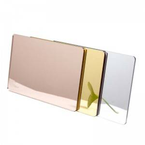 Cheap PriceList for Wall Mirror - Color Mirrored Acrylic Plexiglass Sheet – Donghua
