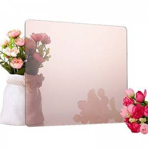 Best Price for Wall Mirror Stickers - See-Thru Two-Way Mirror Acrylic Sheet – Donghua