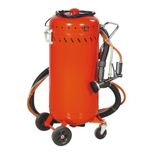 Professional China Crawler Shot Blasting Machine Mini Sandblasting Machine - 28Gallon Abrasive Blaster with Vacuum – Ding Tai