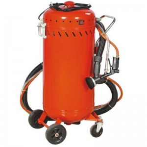 China Supplier Roller Through Shot Blasting - 28gallon Abrasive Sand Blaster with Vacuum – Ding Tai