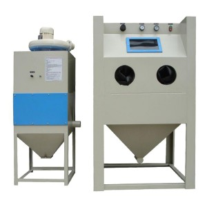 Cabinet Common Pressure Sand Blasting Machine