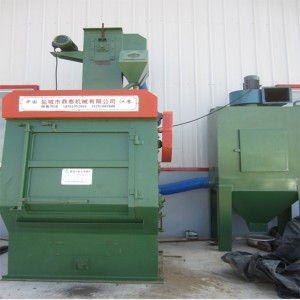 Rubber Belt Shot Blasting Machine